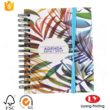 wire o binding spiral notebook with elastic band