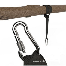 High Quality for Stainless Steel Ratchet Strap Tree Swing Hanging Kit Holds 1200LBS export to Afghanistan Importers