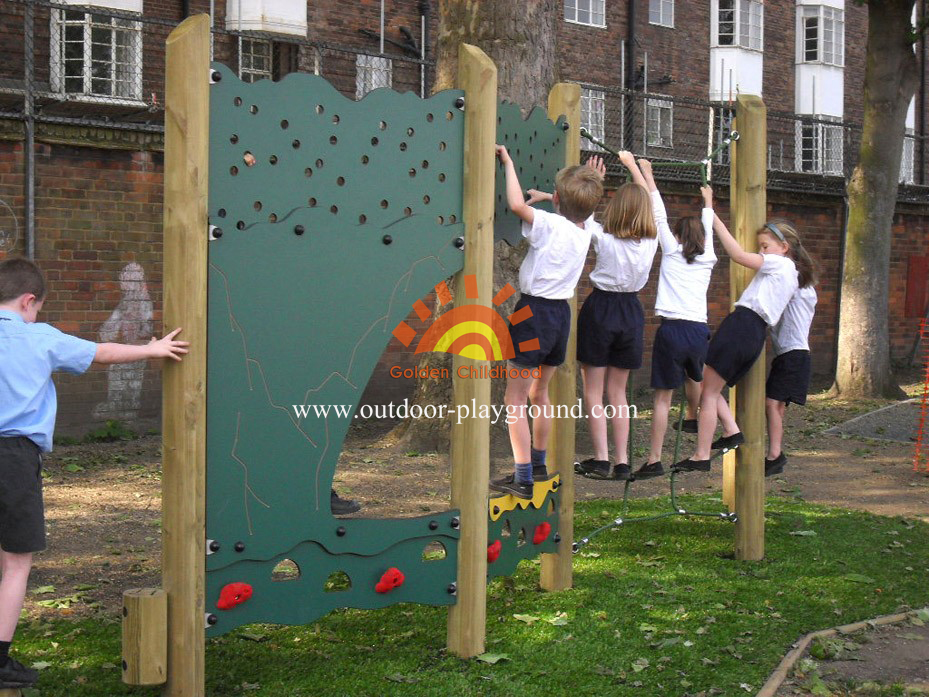 panel climber outdoor playground for children