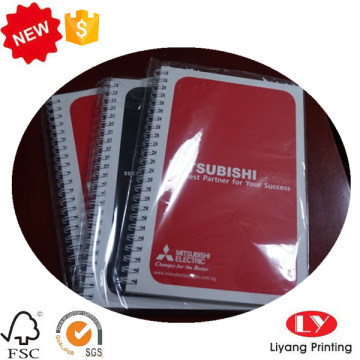 Student office YO notebook with plastic bag packaging