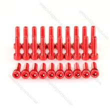 M3*14mm Anodised Aluminum Round Head Screws