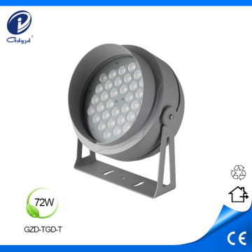 72W aluminum Led outdoor flood luminaires