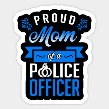 Full color print Custom car police bumper sticker