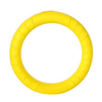 Pets dogs EVA foam training ring chew toys