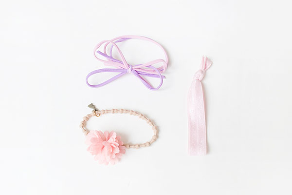 Bowknot Elastic Wide Hair Rope