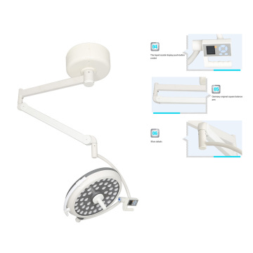 Ceiling and single dome operation lamp