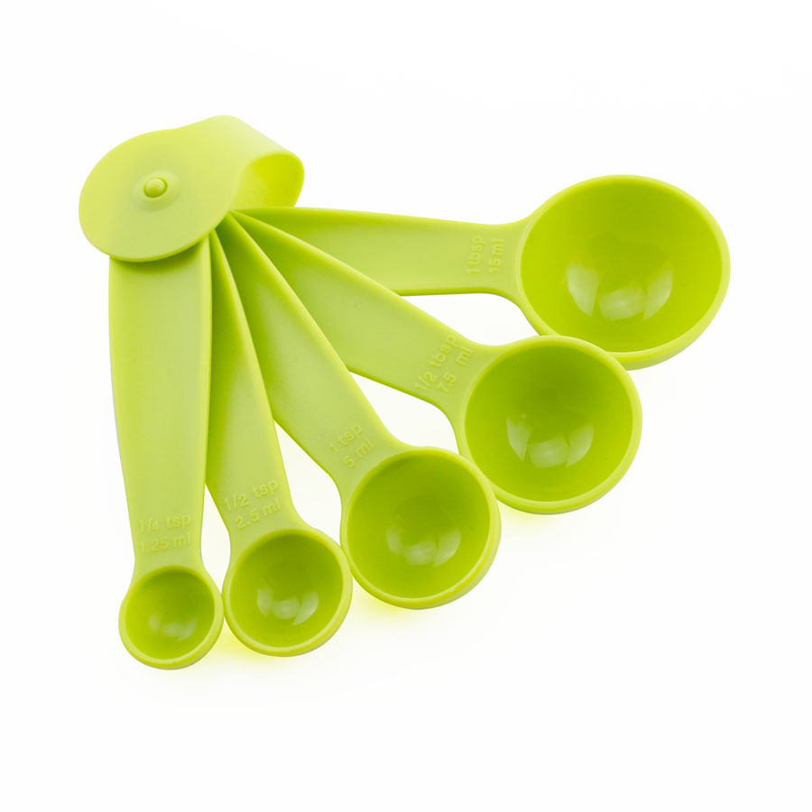 5 Kitchen Aid Plastic Measuring Spoons picture