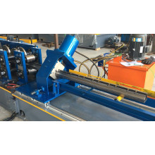 Storage rack shelf frame roll forming machine