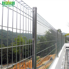 Welded DD-Fence Roll Top BRC Wire Mesh Fence