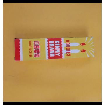 Chinese house use stick white color candle