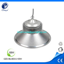 100W high power aluminum sliver led high bay