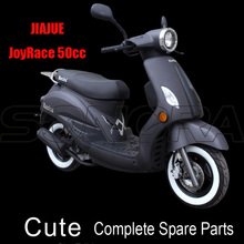 JIAJUE Cute 50cc Complete Motorcycle Spare Parts