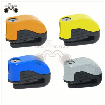 motorcycle bike bicycle high-end anti-theft disc brake alarm lock for sale