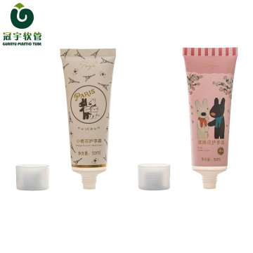 50ml cosmetic plastic tube for hand cream packaging