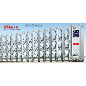 Automatic Single / Double Sliding Retractable Gate