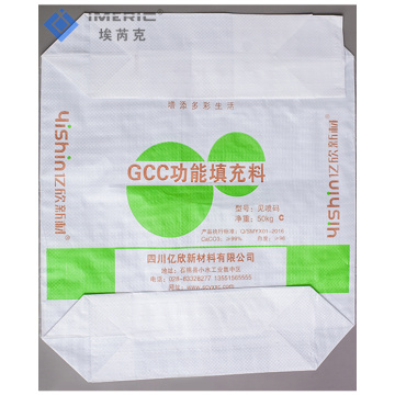 Eco-friendly Recyclable PP Woven Block Bottom Valve Bag