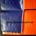 Barangan Rolled Blue Orange Tarpaulin