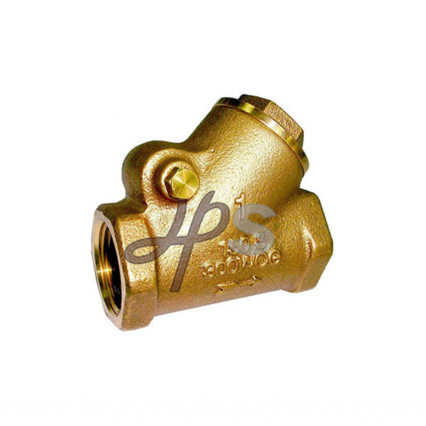 Hps Bronze Y Pattern Swing Check Valve