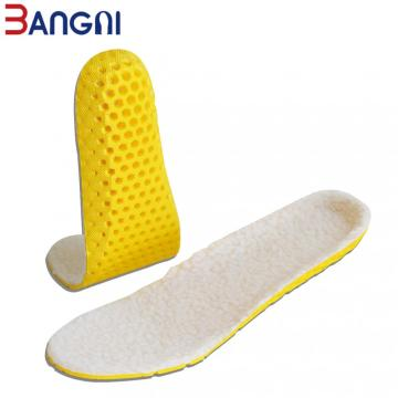 Keep Warm Heated Cashmere Thermal Soft Insoles