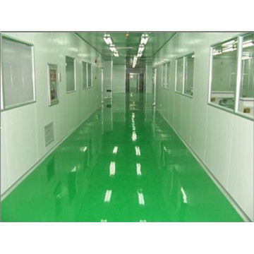 Aseptic epoxy resin concrete coating effect