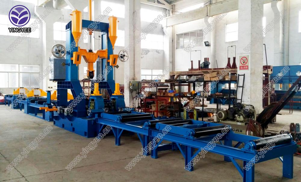 H Beam Welding Machine From Yingyee001