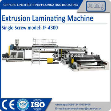 Best Quality for Extrusion Pu Coating Fabric Machine high speed extrusion lamination machine export to United States Manufacturer