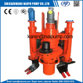 Submersible Slurry Pumps Delivering Liquid Sand