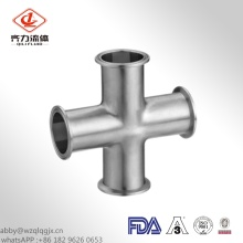 Sanitary Stainless Steel Clamped Cross304/316L