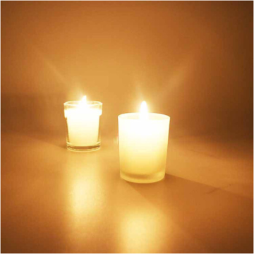 Glass Jar Clean Burning Natural Scented Soy Candles