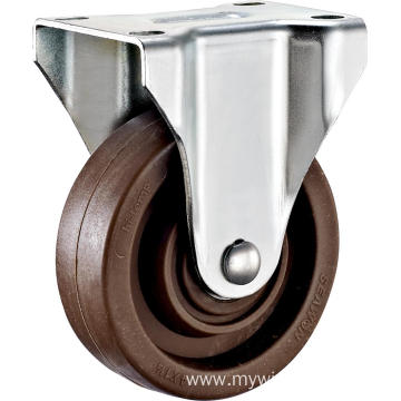 3'' Plate Rigid High Temperature Caster