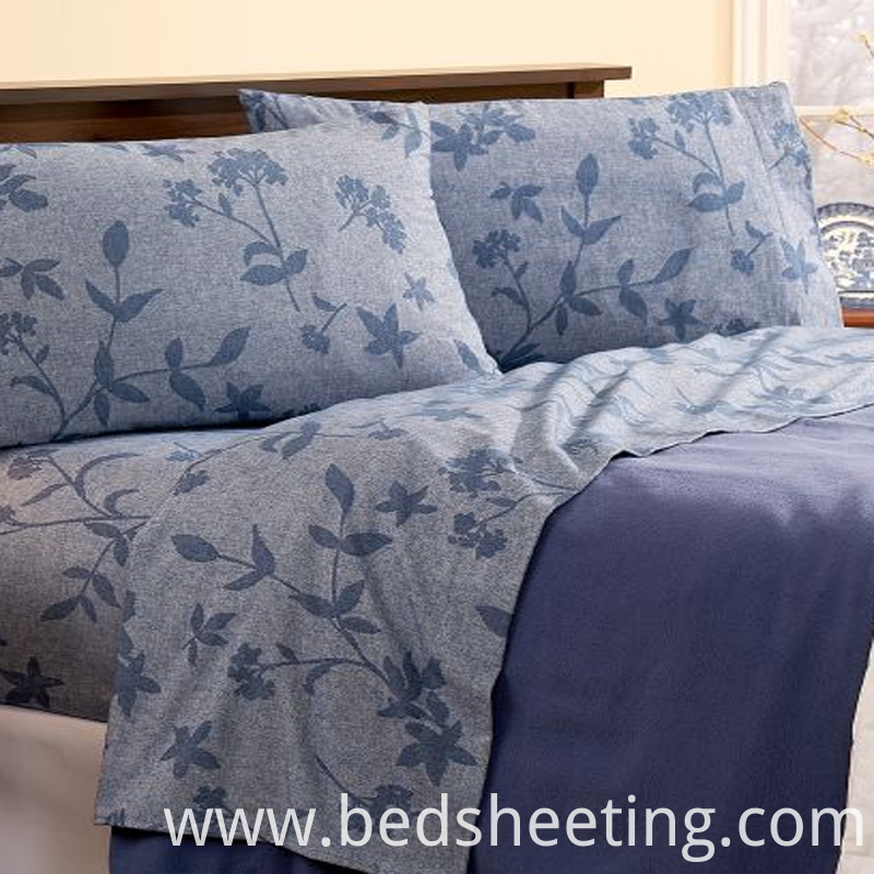 Luxury Cotton Jacqurd Sheet Blue