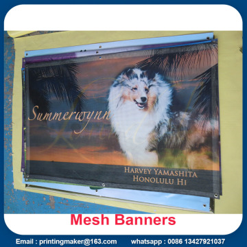 Outdoor Advertising Fence Mesh Banners Printing