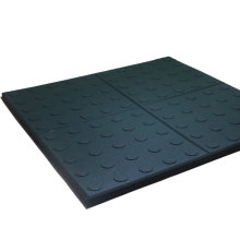 500x500mm size colorful rubber floor sheet for overbridge