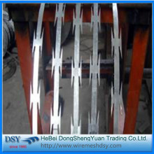 Security Fencing Razor Blade Barbed Wire