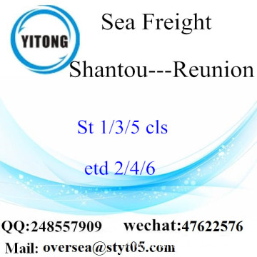 Shantou Port LCL Consolidation To Reunion