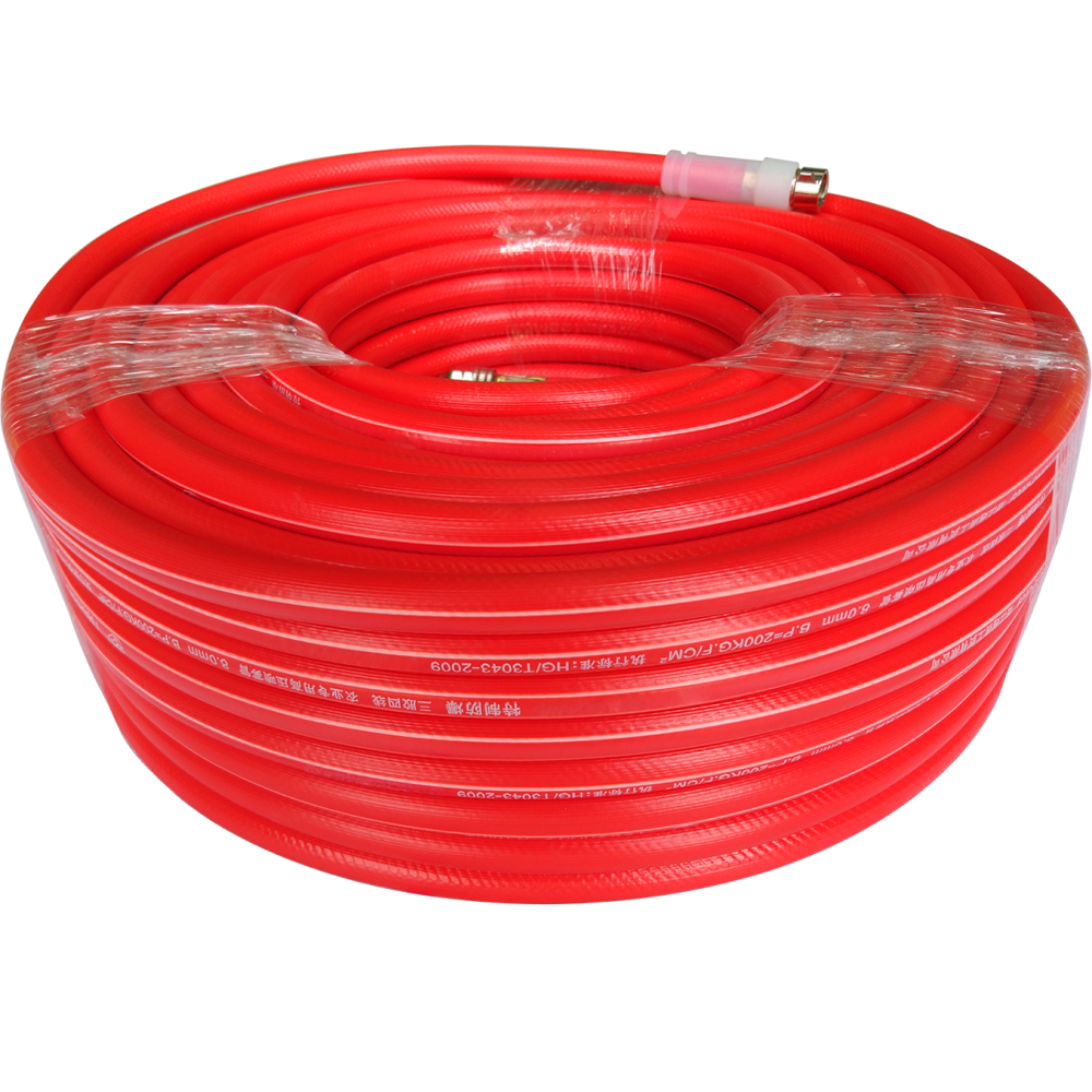 5 Layers Red Color Spray Hose