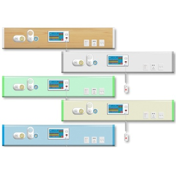 Hospital Bed Head Panel Medical Bed Head Unit