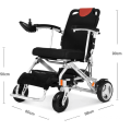 Portable Wheelchair With Lithium Battery