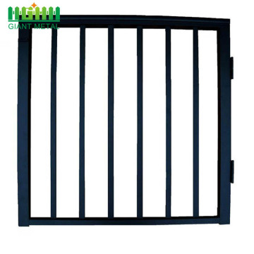 PVC Coated/Galvanized Welded Single Gate Fence