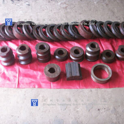 Sunflower oil press parts