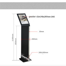A4 Portrait Acrylic Poster Holder Freestanding
