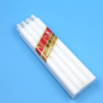 Household cheap wax white candles