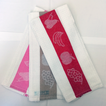 Free sample for Jacquard Kitchen Tea Towel Fruits Jacquard Waffle Check Dish Towels export to India Manufacturer