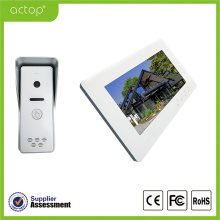 Wired video intercom camera systems for home