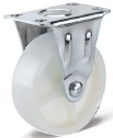 PP Flat Bottom Fixed Casters