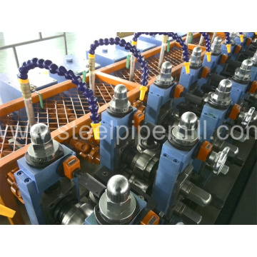 high frequency round pipe proudction line