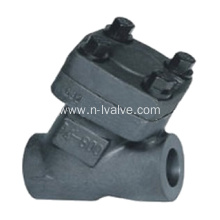 Fast Delivery for China Api602 Check Valve,Forged Check Valve,High Pressure Check Valve,Api 602 Check Valve Supplier Forged Steel Y Type Lift Check Valve supply to South Africa Suppliers