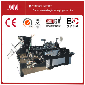 Automatic Envelope Making Machine with Tape Sticking