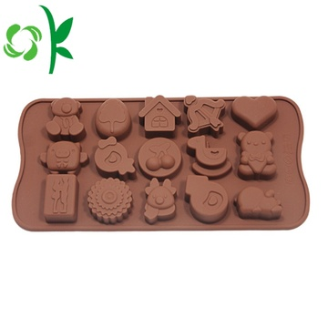 Silicone Heats Shaped Chocolate Molds Food Grade Cheap