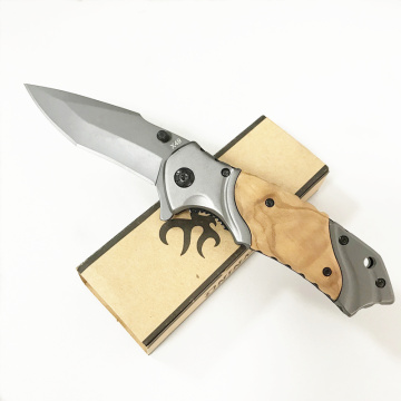 China for Lightweight Pocket Knife Assisted Open Spring Loaded Wood Pocket Knife export to Liberia Factories